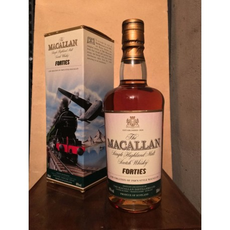 Macallan FortiesTravel Series 50cl con astuccio