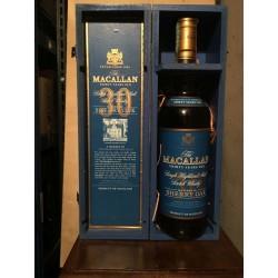 Macallan 30yo Sherry Oak con scatola in legno 70cl (Giovinetti)