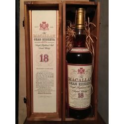 Macallan Gran Riserva 1979 18yo con scatola in legno 70cl (Giovinetti)