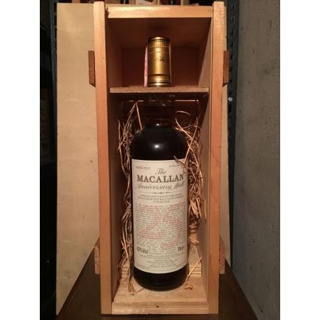 Macallan Anniversary Malt 1972 25yo con scatola in legno 70cl (Giovinetti)