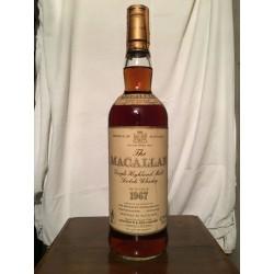 Macallan 1967 18yo (Giovinetti) 70cl