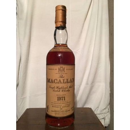Macallan 1971 18yo (Giovinetti) 70cl