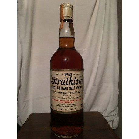 Strathisla 1958 (Glenlivet Distillery) 70cl