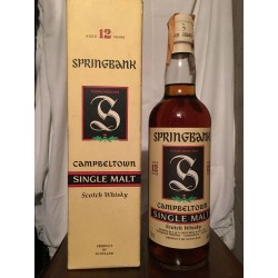 Springbank 12yo Campbeltown old bottle con astuccio 70cl