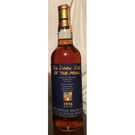 The Dark Side Of The Moon 1976 26yo Sherry Cask-Glen Grant Distillery Velier con astuccio 70cl