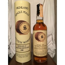 Linkwood 1988 Signatory Vintage 10yo Limited and Numbered con astuccio (tubo) 70cl