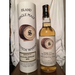 Isle of Jura 1975 Signatory Vintage 22yo Limited and Numbered con astuccio (tubo) 70cl