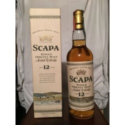 Scapa 12yo old bottle 70cl