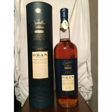 Oban 1985 Double Matured The Distillers Edition Limited Edition con astuccio (tubo) 1L