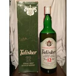 Talisker TD 12yo old bottle 1970s con astuccio (livello basso) 75cl