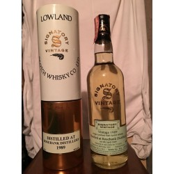 Rosebank Distillery 12yo Lowland Signatory Vintage 1989 con astuccio (tubo) 70cl