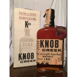 Knob Creek 9yo 100 Proof con astuccio 70cl old bottle