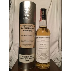 Highland Park 1988 14yo Signatory The Un-chillfiltered Collection con astuccio (tubo) 70cl