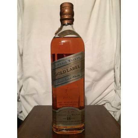 Johnnie Walker Gold Label 18yo old bottle 70cl