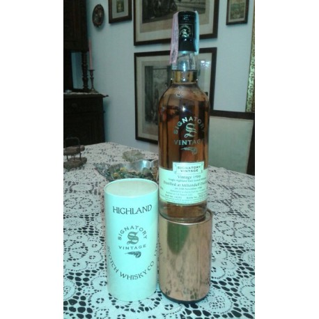 Miltonduff 1986 14yo Signatory Vintage limited and numbered con astuccio (tubo) 70cl