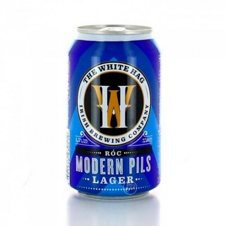 Roc Modern Pils Lager - The White Hag Irish Brewing Company lattina 33cl