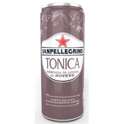 Acqua Tonica con estratto di legno di rovere lattina 33cl - Sanpellegrino