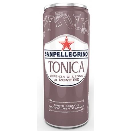 Acqua Tonica con essenza di legno di rovere lattina 33cl - San Pellegrino