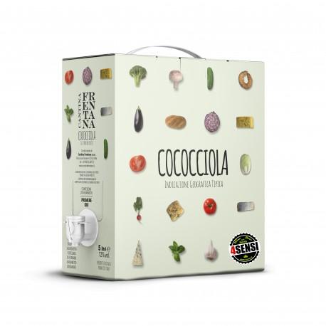 """Bag in Box Bianco Cococciola Terre di Chieti """"Frentano""""  5 Litri - Cantina Frentana"""