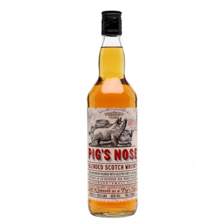 Pig's Nose Blended Scotch Whisky - Ian Macleod