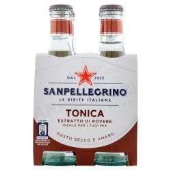 Confezione da 4 Bottiglie Acqua Tonica con essenza di legno di rovere 20cl - Sanpellegrino