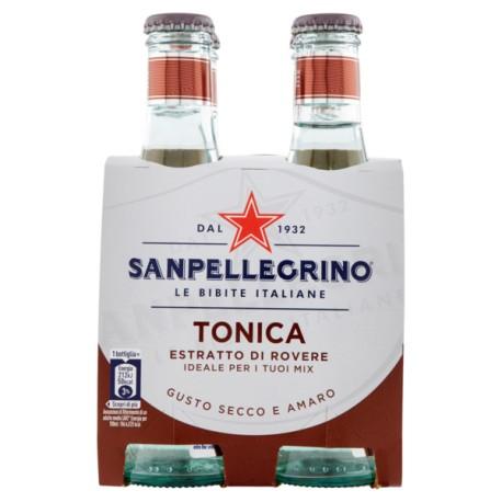 Confezione da 6 bottiglie Acqua Tonica con essenza di legno di rovere 20cl - San Pellegrino