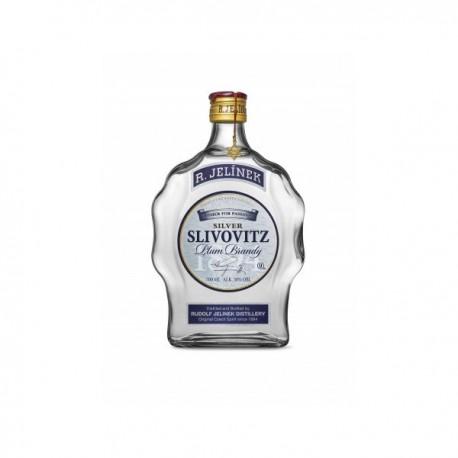 Slivovice Slivovitz Plum Brandy Distillato di Prugne Kosher Silver - R. Jelinek 70cl