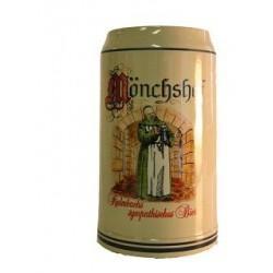 Monchshof boccale ceramica 1 litro