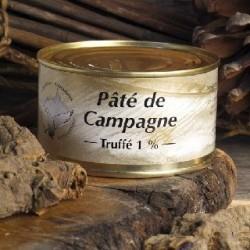 Patè di campagna al tartufo 1% - Conserverie du Manoire
